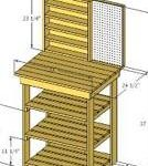workbenches,worktables,sketchup,Google 3D,3-D warehouse,workshops,storage,drawings,free woodworking plans,projects,do it yourself,woodworkers