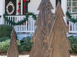 yard art,christmas trees,diy,free woodworking plans,free projects,do it yourself