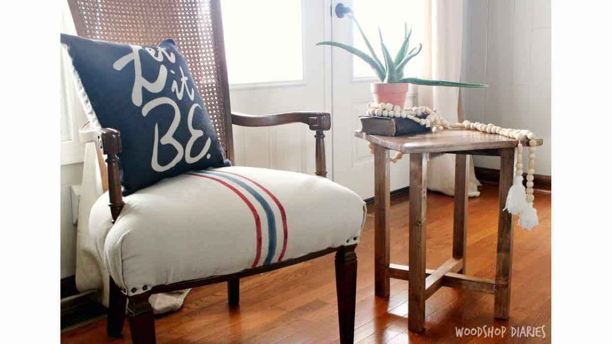 side tables,furniture,end tables,diy,free woodworking plans,free projects,do it yourself