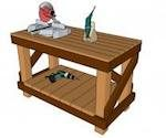 MyOutdoorPlans,workbenches,worktables,diy,free woodworking plans,free projects,do it yourself