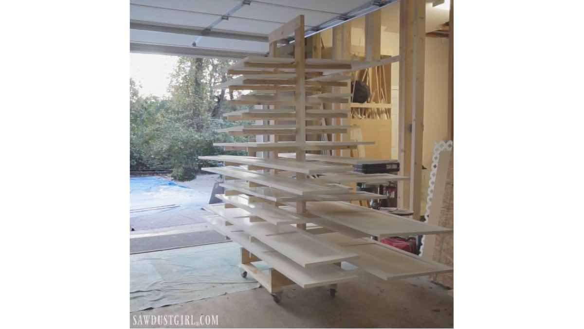 paint drying rack,workshop racks,diy,free woodworking plans,free projects,do it yourself