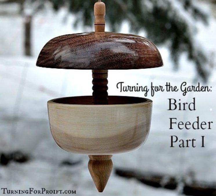 Learn to turn Bird Feeders on the Lathe.