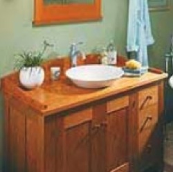 Workbench Magazine,bathroom vanity,free woodworking plans,projects,patterns,bathroom cabinets,vanities