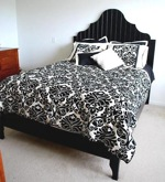beds,headboards,head boards,arched headboard,furniture,DIY instructions,free woodworking plans,do it yourself