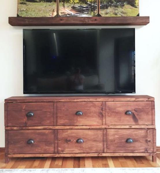 media consoles,tv stands,diy,free woodworking plans,free projects,do it yourself