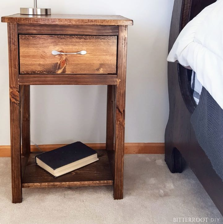 bedside tables,nightstands,bedroom furniture,diy,free woodworking plans,free projects,do it yourself