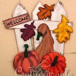 welcome signs,fall,scroll saw,free woodworking plans,projects,pumpkins,leaves,gourds,scrollsaw,do it yourself,woodworkers