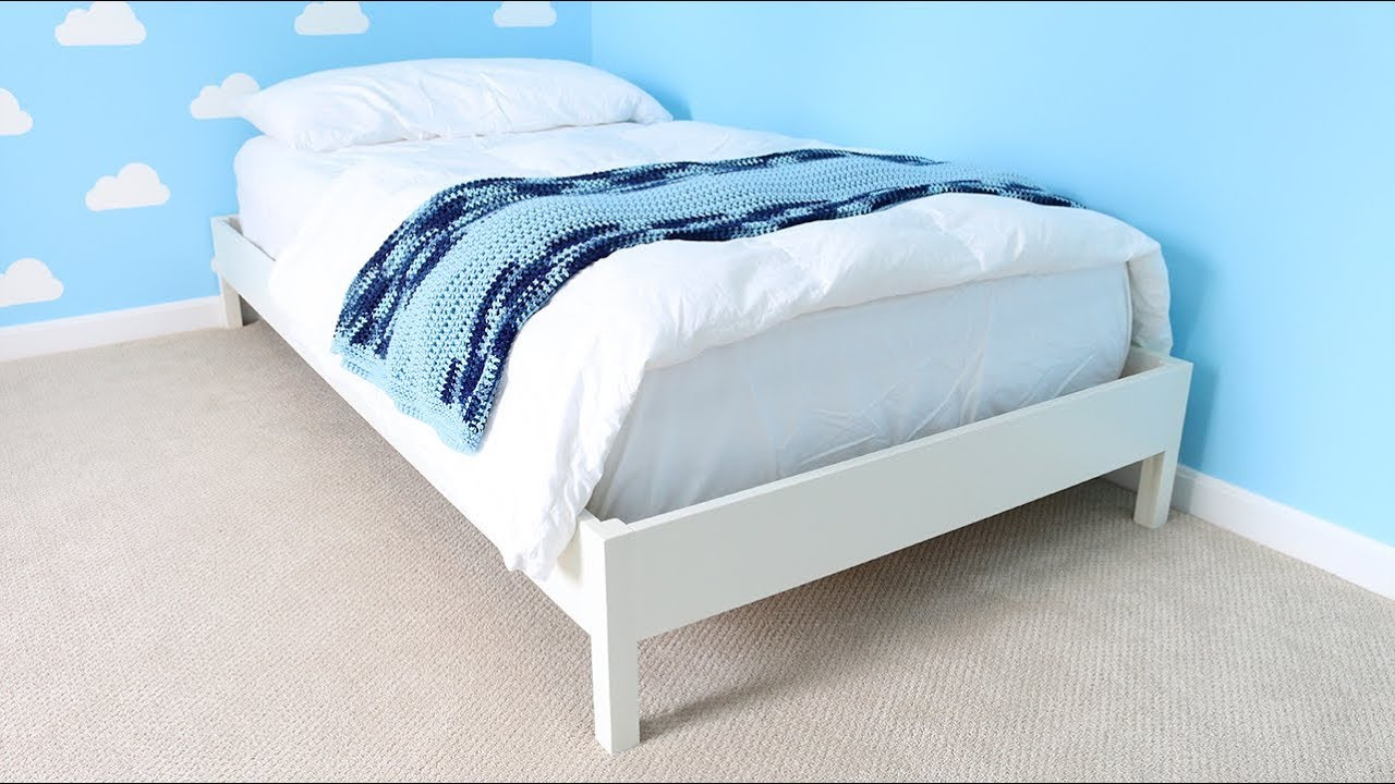 Build a Bed Frame free plan