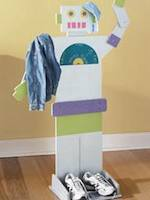 robots,clothes racks,childrens,diy,free woodworking plans,free projects,do it yourself