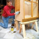 sawhorses,free woodworking plans,workshop projects,do it yourself