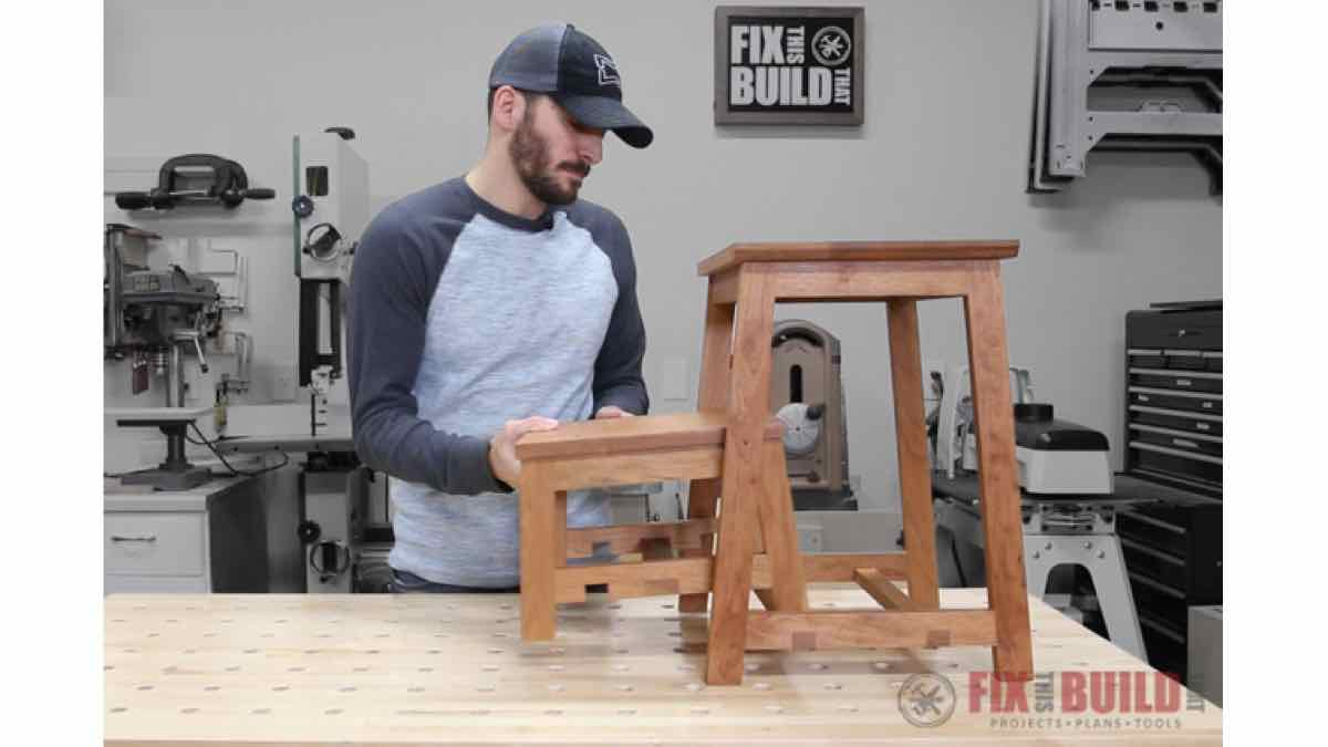 step stools,nesting stools,furniture,diy,free woodworking plans,free projects,do it yourself