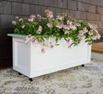 planter boxes,wheels,diy,free woodworking plans,free projects,do it yourself,outdoors