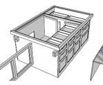 sanding,sketchup,Google 3D,down draft,downdraft,3-D,free woodworking plans,workshop projects,do it yourself