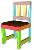 dining chairs,2x4,furniture,diy,free woodworking plans,free projects,do it yourself