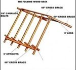 sawbucks,free woodworking plans,projects,sawhorses,saw horses,cutting firewood