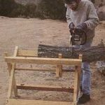 sawbucks,folding,firewood,free woodworking plans,projects,diy
