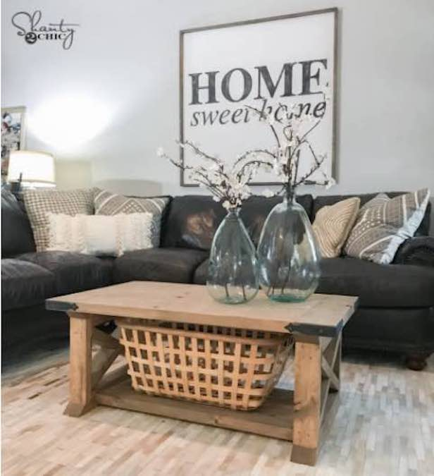 coffee tables,farmhouse,furniture,diy,free woodworking plans,free projects,do it yourself