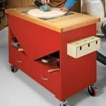 portable,mobile,sanding,worktables,free woodworking plans,workshop projects