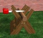 sawbucks,firewood,diy,free woodworking plans,free projects,do it yourself