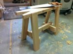 sawhorses,workshops,wooden,free woodworking plans,projects,diy