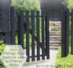 gates,fence gates,outdoors,wooden,diy,free woodworking plans,free projects,do it yourself