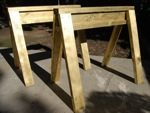 sawhorses,free woodworking plans,projects,diy,workshops,stackable