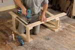 sawhorses,saw horses,wooden,easy,DIY instructions,free woodworking plans,do it yourself,woodworkers how to build,tools