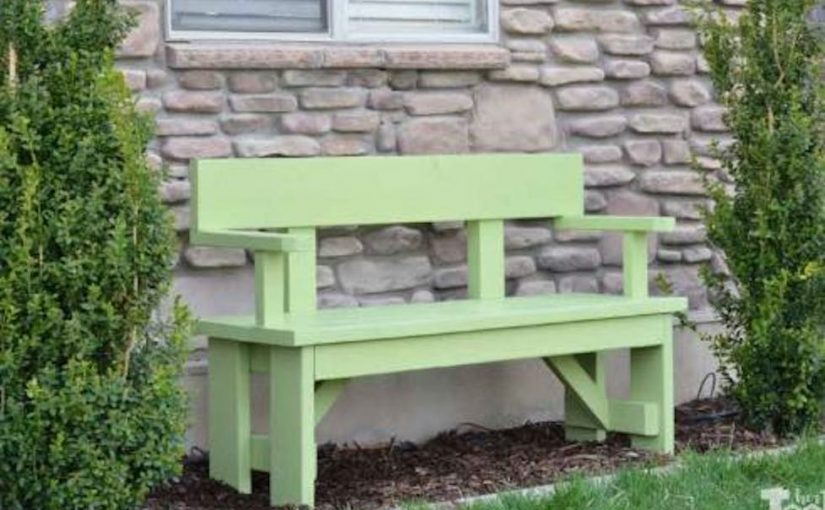 Bench with Backrest