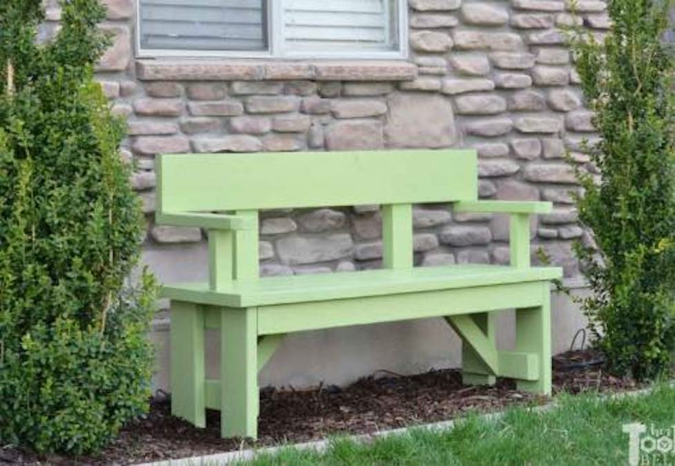 Build a Bench with Backrest.