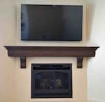 fireplaces,mantels,mantles,diy,free woodworking plans,free projects,do it yourself
