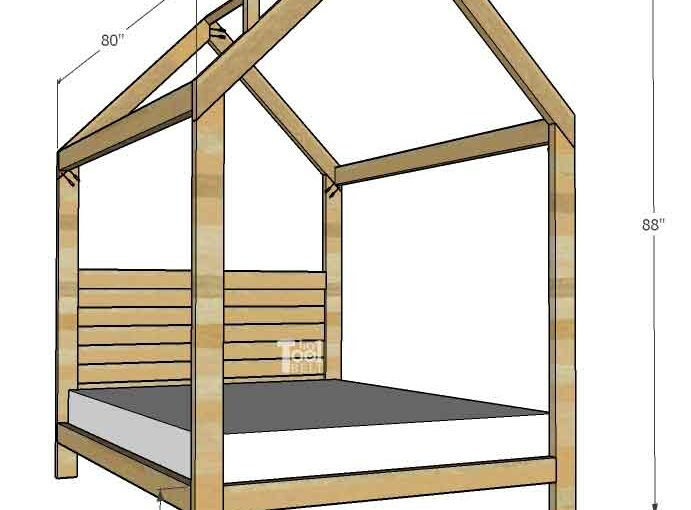 House Frame Full Size Bed