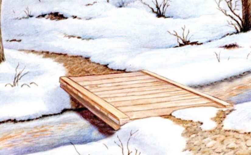 Free plans to build a Foot Bridge.
