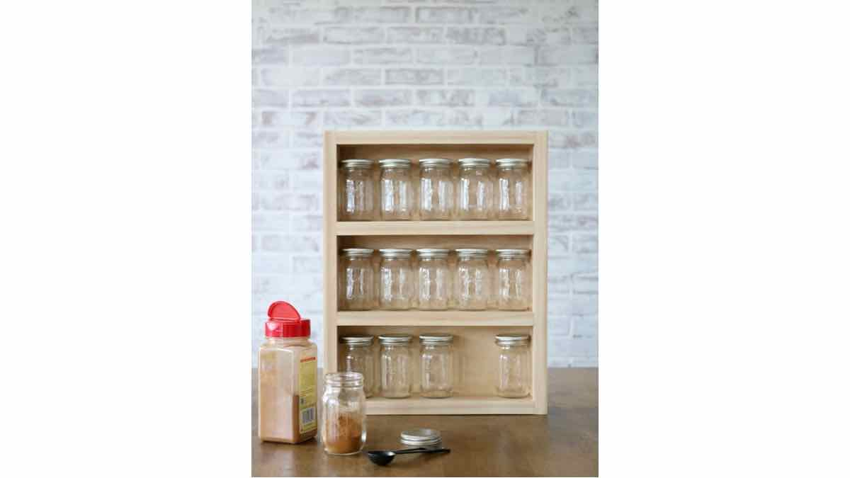 spice racks,kitchem spice rack,diy,free woodworking plans,free projects,do it yourself