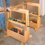 free woodworking plans, projects, saw horses