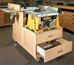 free woodworking plans, projects, tablesaws, workstations, cabinets