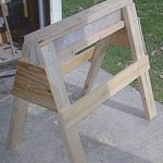 sawhorses,wooden,workshops,diy,free woodworking plans,free projects,do it yourself