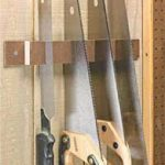 racks,workshops,storage,tools,handsaws,wall mounted,free woodworking plans,projects,patterns