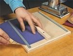 free woodworking plans, projects, workshop, sanding, sandpaper