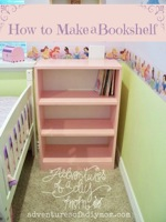bookshelves,bookshelf,diy,free woodworking plans,free projects,do it yourself,furniture,bookcase