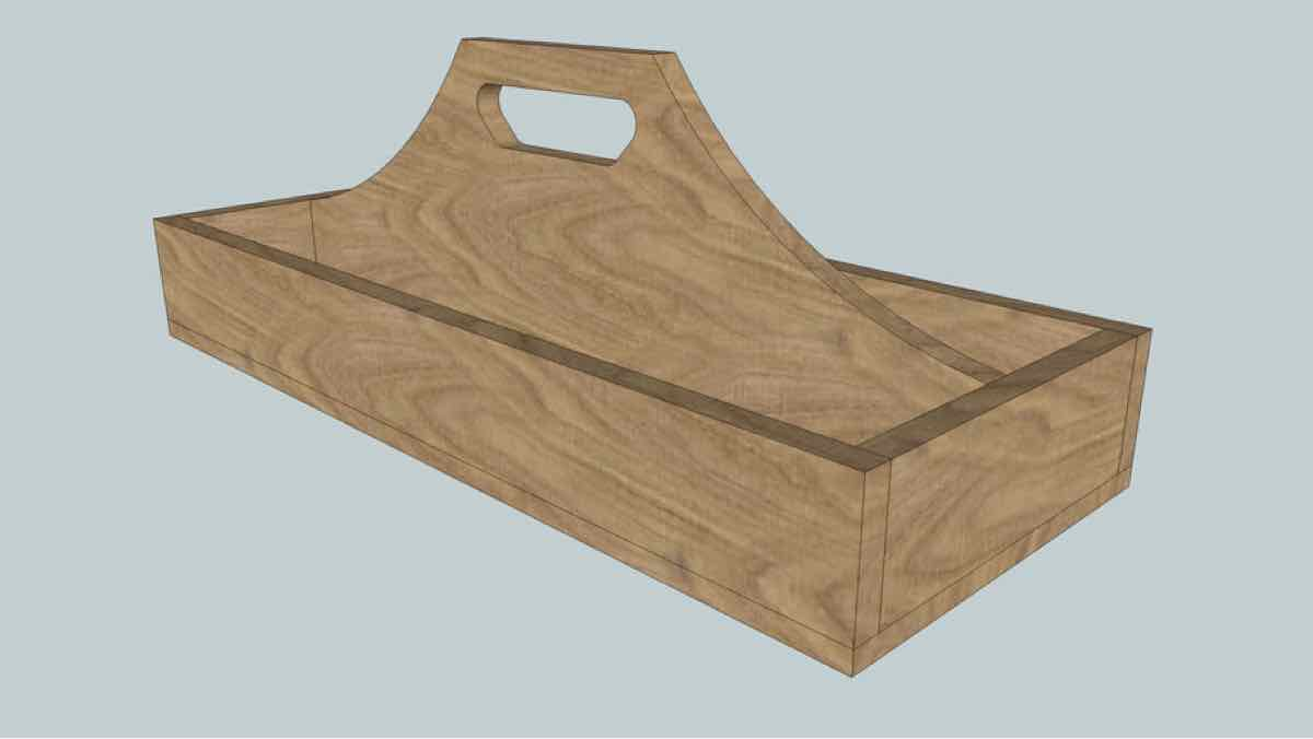 serving tray,diy,free woodworking plans,free projects,do it yourself