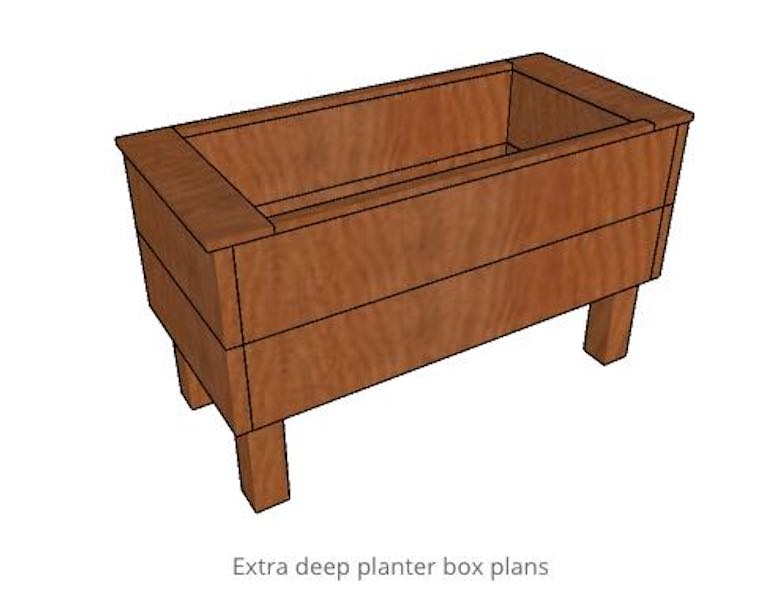 Build a Deep Elevated Planter box.