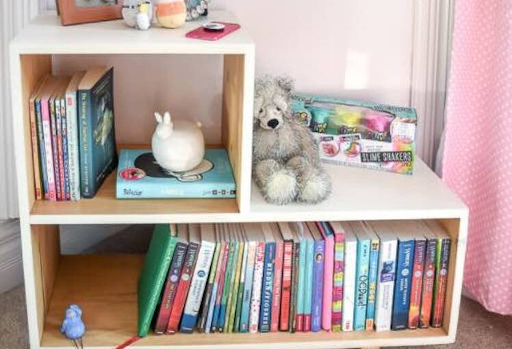 MCM Side Table/Bookcase