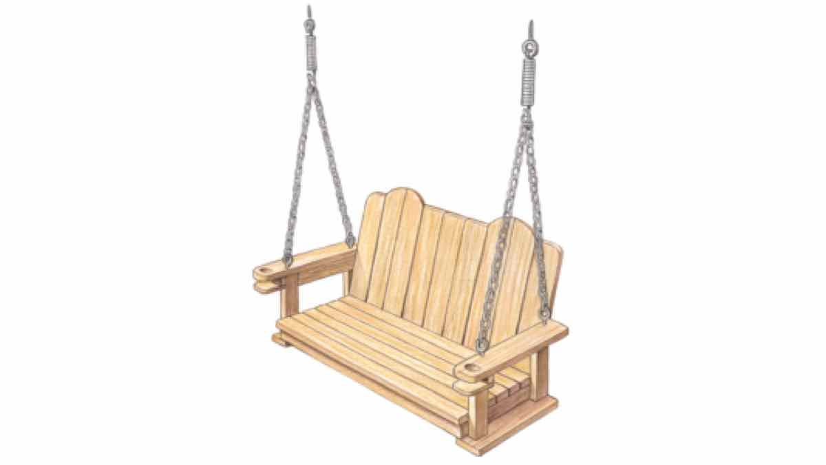 porch swings,diy,free woodworking plans,free projects,do it yourself