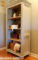 bookshelf,bookshelves,bookcases,diy,free woodworking plans,free projects,do it yourself