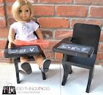 doll furniture,doll desks,18 inch dolls,diy,free woodworking plans,free projects,do it yourself