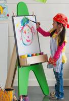 childrens easel,easels,free woodworking plans,projects,do it yourself
