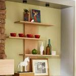shelving,open,wooden,free woodworking plans,wall mounted,staggered,projects,do it yourself,woodworkers