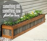 planter boxes,diy,free woodworking plans,free projects,do it yourself