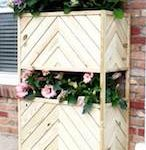 planters,tiered,planter boxes,diy,free woodworking plans,free projects,do it yourself