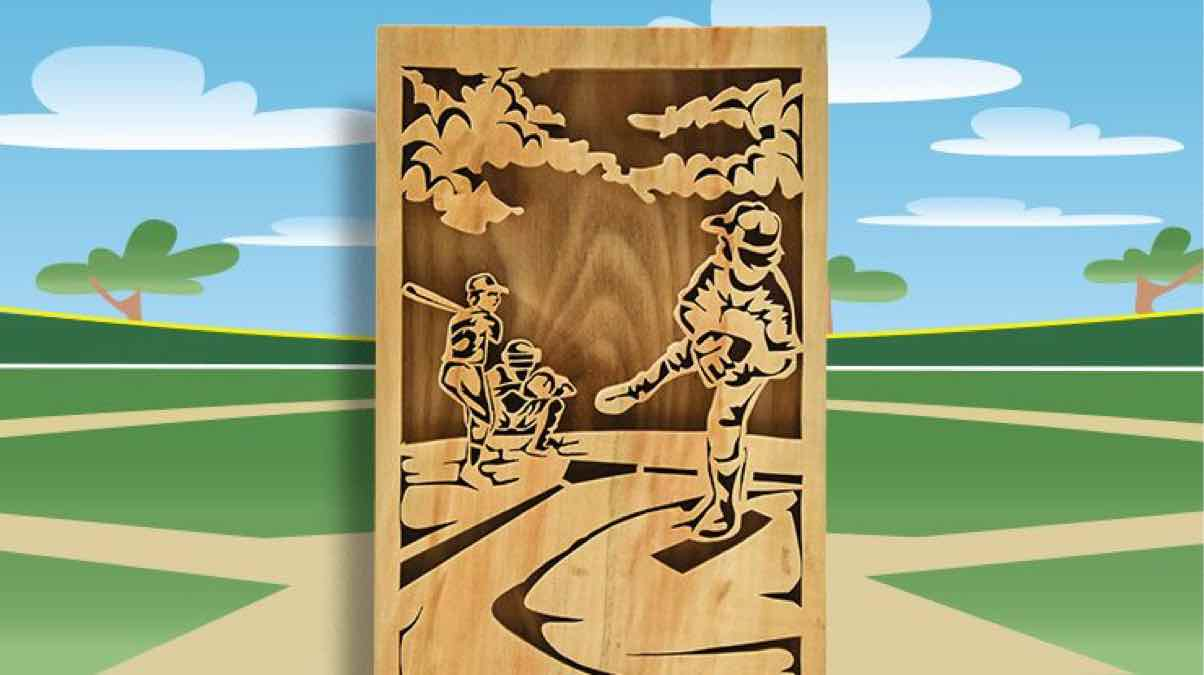 scroll saws,baseball,free patterns,diy,free woodworking plans,free projects,do it yourself